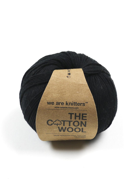We Are Knitters Algodón Pima 100% Negro Algodón Pima