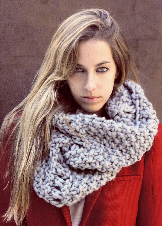 We Are Knitters  Soho's Snood Kit Lana Fácil